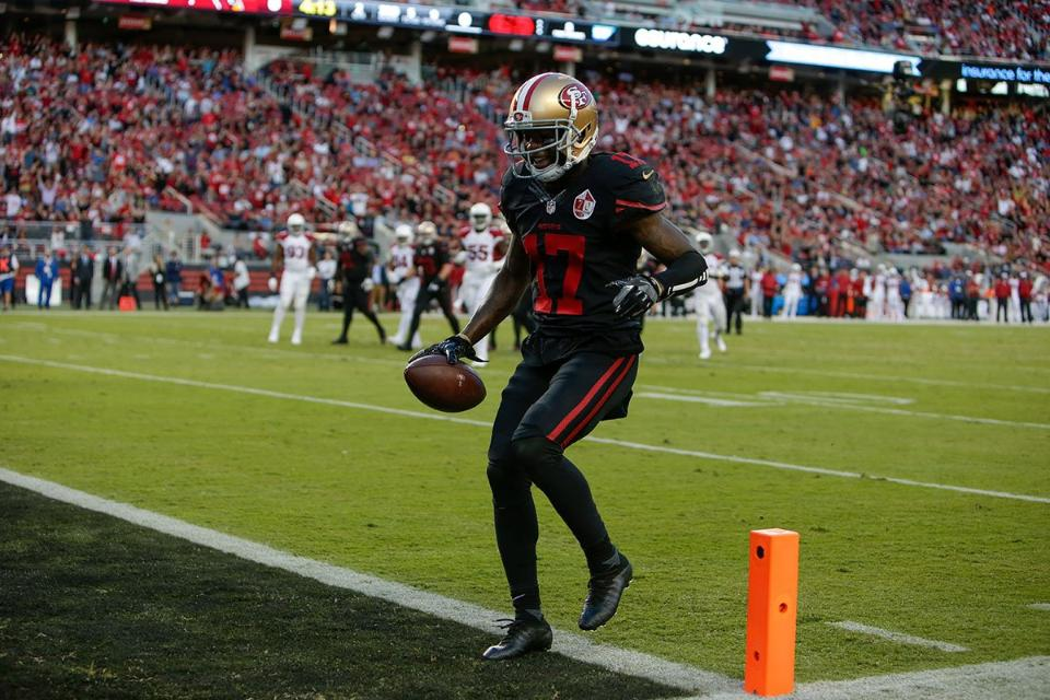 Que louco, o 49ers fez um touchdown!